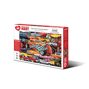 Boomers Favorite Rides Artist Kate Ward Thacker Hart Puzzle