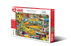 California Dreamn' Hart Puzzle By Kate Ward Thacker
