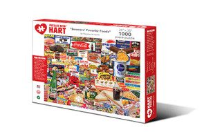 Boomers Favorite Foods Hart Puzzle By Stephen M. Smith
