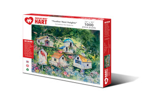 Feather Nest Heights Hart Puzzle By Kathleen Parr McKenna
