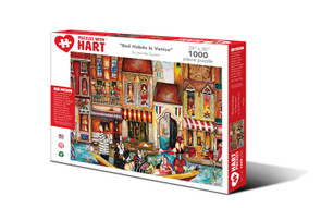 Bad Habits in Venice Hart Puzzle by Jennifer Garant