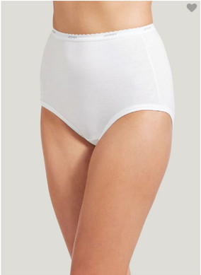 Jockey Classic Brief - 3 Pack White