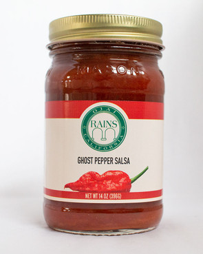 RAINS Ghost Pepper Salsa
