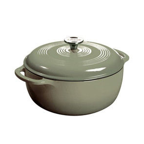 Lodge® 6 Quart Desert Sage Enameled Cast Iron Dutch Oven