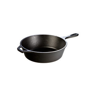 Lodge® 10.25 Inch / 3.2 Quart Cast Iron Deep Skillet