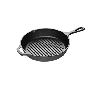 Lodge® 10.25 Inch Cast Iron Grill Pan
