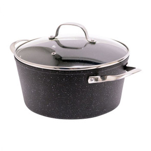 The Rock 7.2 Qt Stockpot with Lid