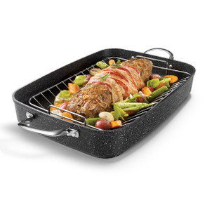 The Rock Roasting Pan with Rack