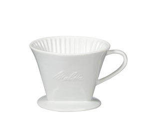 Melitta 1-Cup Porcelain Pour-Over Coffeemaker