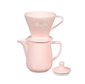 Melitta Heritage Series Porcelain Pour-Over Coffeemaker - Pastel Pink