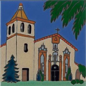 Santa Clara 8th mission, founded 1777