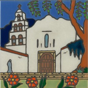 San Diego 1st mission, founded in 1769