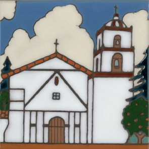 San Buena Ventura 9th mission, founded in 1782