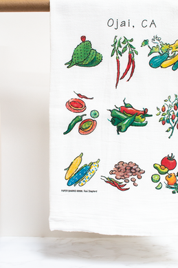 Chiles & Friends Flour Sack Towel