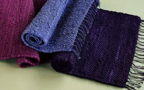 "Foothill Oriental Rugs Cotton Rag Runner 30"" x 8'"