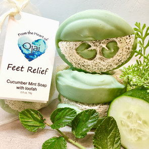 From The Heart Of Ojai Nourishing Hand Crafted Foot Relief Bar 2.5 oz.