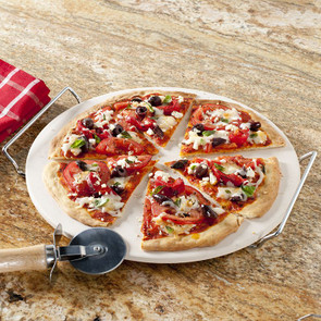 "Nordicware 13"" Pizza Stone Set"