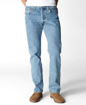 Men's Levi's 501-0134 Original Fit Light Stone Wash