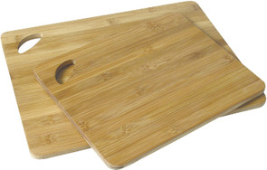 Island Bamboo Cutting Boards 2-Pack