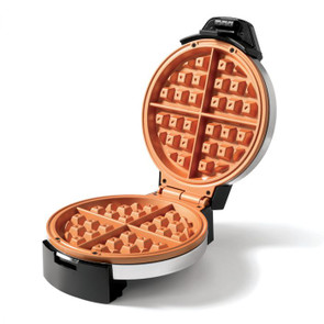 Starfrit Electric Waffle Maker - Eco Copper