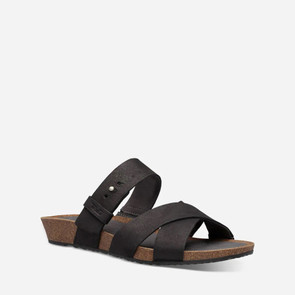 Women's Teva Mahonia Slide Leather