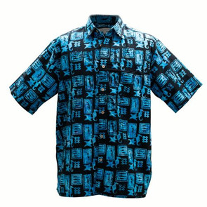Men's Basic Options Batik Ocean Fossil
