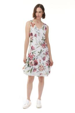 Charlie B Printed Cotton Gauze Dress