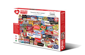 """Hart Puzzle""""American Beer Labels"""""""