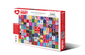 """Hart Puzzle """"Keep Calm and Puzzle On"""""""