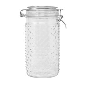 33oz Hobnail Round Glass Jar
