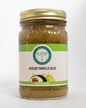 RAINS Avocado Tomatillo Salsa