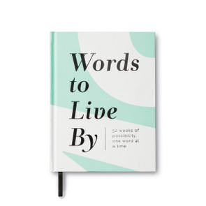 Words To Live By Guided Journal
