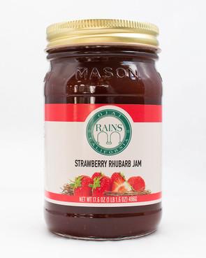 RAINS Strawberry Rhubarb Jam