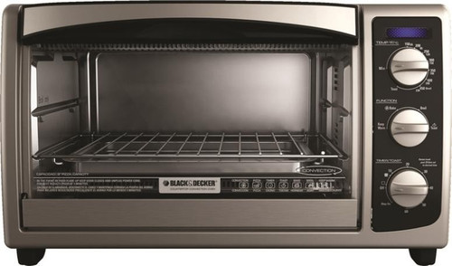 Conventional Toaster Oven, 6 Slice