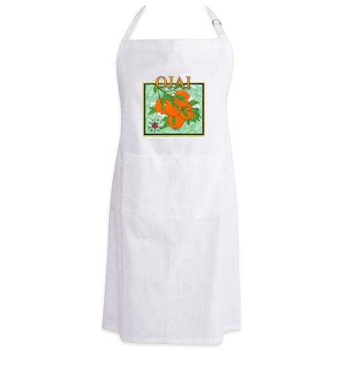 Apron - Ojai Orange Logo