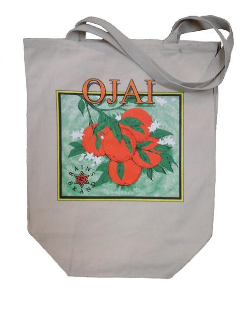 Tote - Ojai Orange Logo