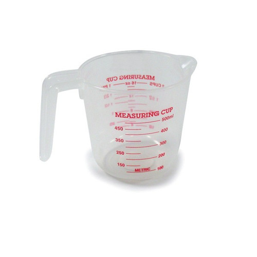 2 Cup Plastic Measuring Cup With Metric Equivalents
