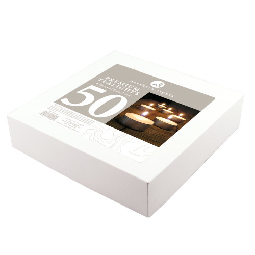 6 Hour Tealights, Northern Lights-50/box