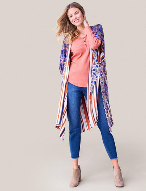 Women's Tribal Reversible Kimono