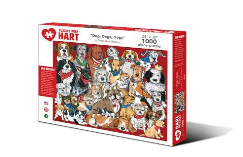 Dogs, Dogs, Dogs By Sherri Buck Baldwin Hart Puzzle
