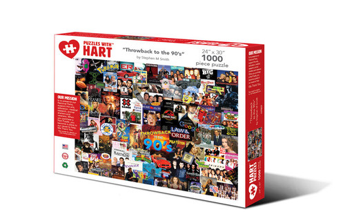 Throwback To The 90's Hart Puzzle By Stephen M. Smith