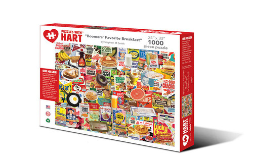 Boomers Favorite Breakfast Hart Puzzle By Stephen M. Smith