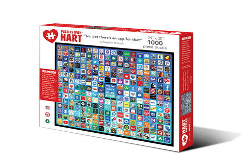 You bet there's an app for that Hart Puzzle By Stephen M Smith