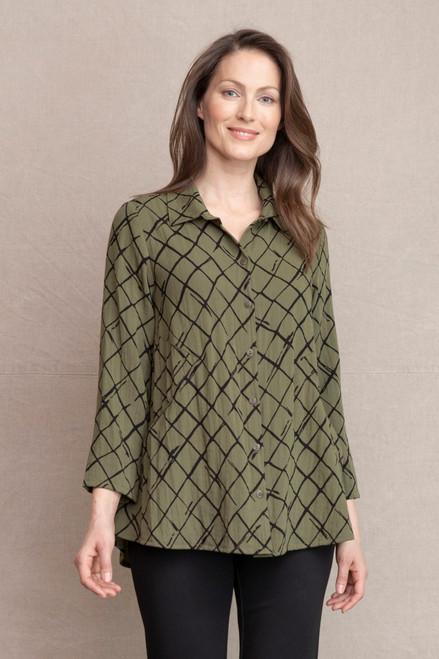 Women's Habitat Express Travel Artist Shirt with Built in Pockets