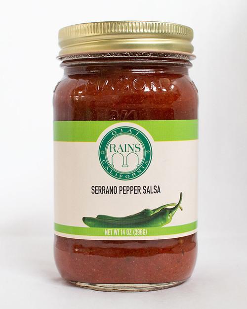 RAINS Serrano Pepper Salsa