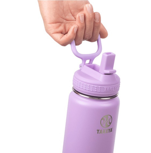 TAKEYA Actives Insulated Water Bottle With Straw Lid
