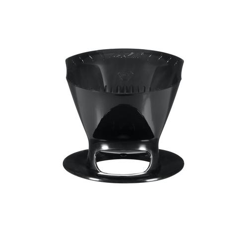 Melitta 1-Cup Pour-Over Coffee Brew Cone - Black