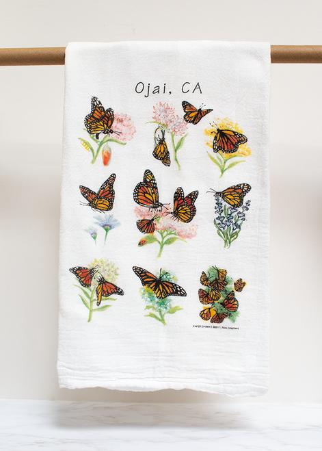 Monarchs Flour Sack Towel