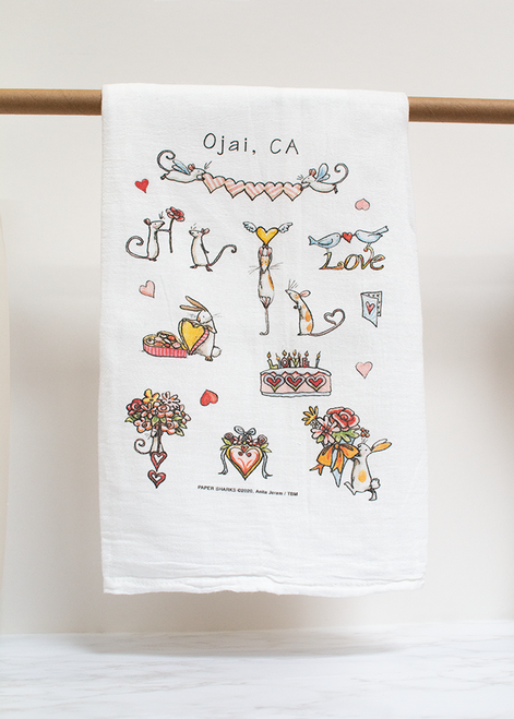 Love To You Flour Sack Towel