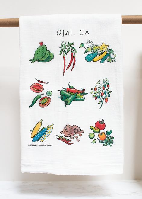 Chiles & Friends Flour Sack Towel